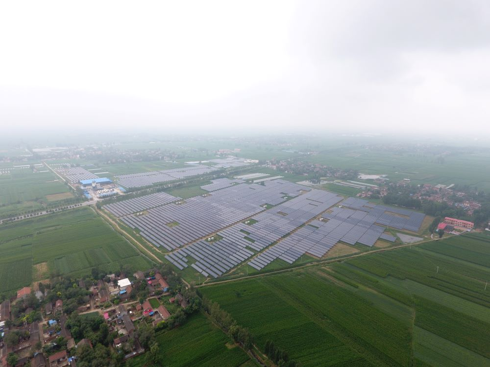 Puyang Henan China 60 MW Project